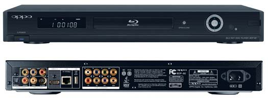 OPPO-universal-DVD-player